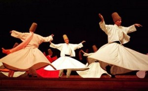 WHIRLING CEREMONY ( WHIRLING DERVISHES)
